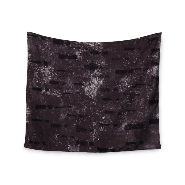 KESS InHouse Iris Lehnhardt 'Tex Mix Lounge' Abstract Purple 51x60-inch Tapestry