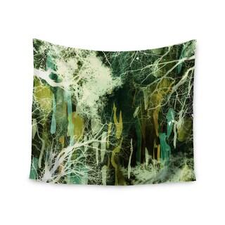 KESS InHouse Iris Lehnhardt 'Tree Of Life Green' Nature Green 51x60-inch Tapestry