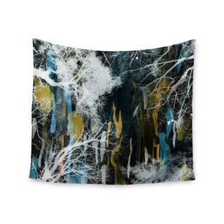 KESS InHouse Iris Lehnhardt 'Tree Of Life' Abstract Blue 51x60-inch Tapestry