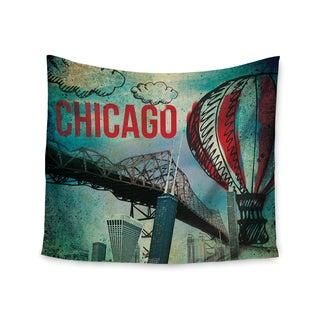 Kess InHouse iRuz33 'Chicago' 51x60-inch Wall Tapestry