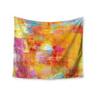 KESS InHouse Ebi Emporium 'Off The Grid' Orange Rainbow 51x60-inch Tapestry