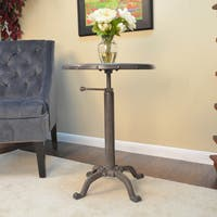 Carbon Loft Howe Industrial Metal Adjustable Vintage Table