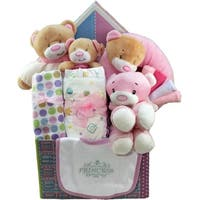 Sweet Baby Care Gift Box With Teddy Bear Package