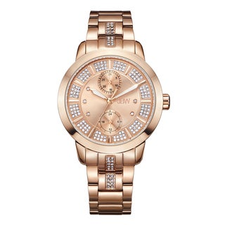 JBW Women's Lumen J6341E 18k Rose Goldplated Multifunction Diamond Watch