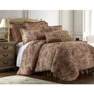 Sherry Kline Cassandra Toile 4-piece Luxury Comforter Set
