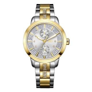 JBW Lumen J6341B Two-tone Stainless Steel/Gold Multifunctional Diamond Women's Watch