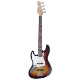 Stagg B300LH-SB Sunburst Left Handed Fusion Electric Bass Guitar