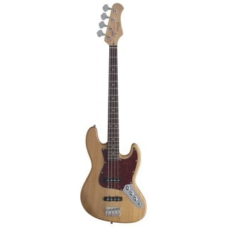 Stagg Natural Standard J Style Electric Bass Guitar