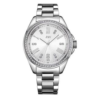 JBW Capri J6340D Silver Stainless Steel/Mineral Diamond Women's Watch