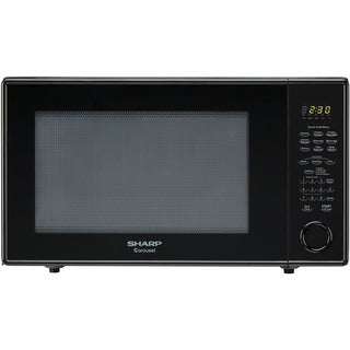 Sharp Carousel Black 2.2-cubic foot 1,200-watt Countertop Microwave Oven