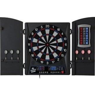 Fat Cat Mercury Electronic Soft-tip Dartboard With Cabinet