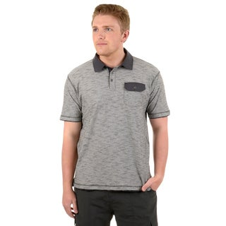 Vance Co. Men's Short-sleeve Casual Polo Shirt