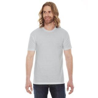 American Apparel Unisex 50/50 New Silver Short-sleeve T-shirt