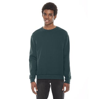 American Apparel Unisex Flex Forest Fleece Drop Shoulder Crewneck Pullover