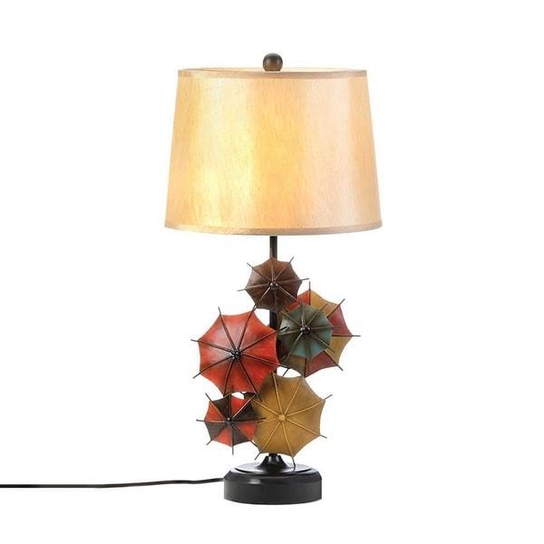 Umbrella-Parasols Charming Table Lamp