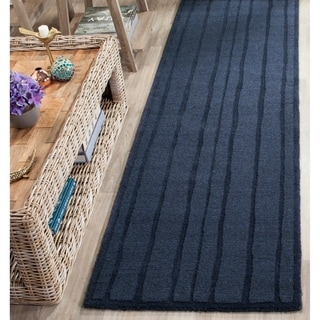 Safavieh Handmade Martha Stewart Collection Wrought Iron Wool Rug (2' 3 x 8')