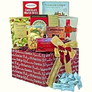 'Many, Many Thanks' Gourmet Food Snacks Care Package
