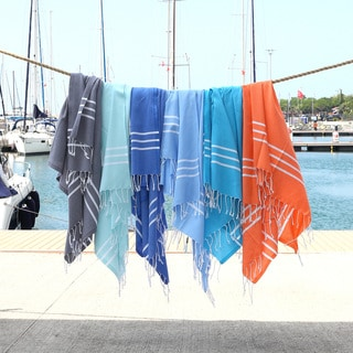 Authentic Ella Pestemal Fouta Turkish Cotton Bath/ Beach Towel