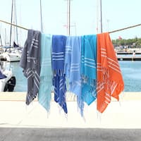 Authentic Ella Pestemal Fouta Turkish Cotton Bath/ Beach Towel