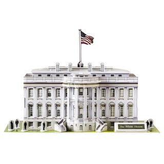 HSI White House 80-piece 3D Puzzle|https://ak1.ostkcdn.com/images/products/12105631/P18967668.jpg?impolicy=medium