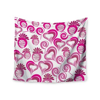 Kess InHouse Maria Bazarova 'Sweet Love 2' 51x60-inch Wall Tapestry