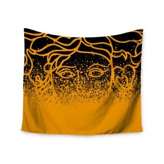 Kess InHouse Just L 'Versus Spray Blk Gld' 51x60-inch Wall Tapestry