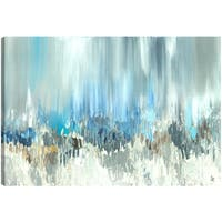 ArtMaison Canada. Sanjay Patel, Blue Visuals, Abstract, Canvas Print Canvas Wall Art Decor, Gallery Wrapped 30X40