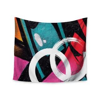 Kess InHouse Just L 'Channel Zero' 51x60-inch Wall Tapestry
