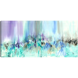 Hobbitholeco., Sanjay Patel, Multiple Colors, Abstract, Hand Applied Gel Brush Finish Canvas