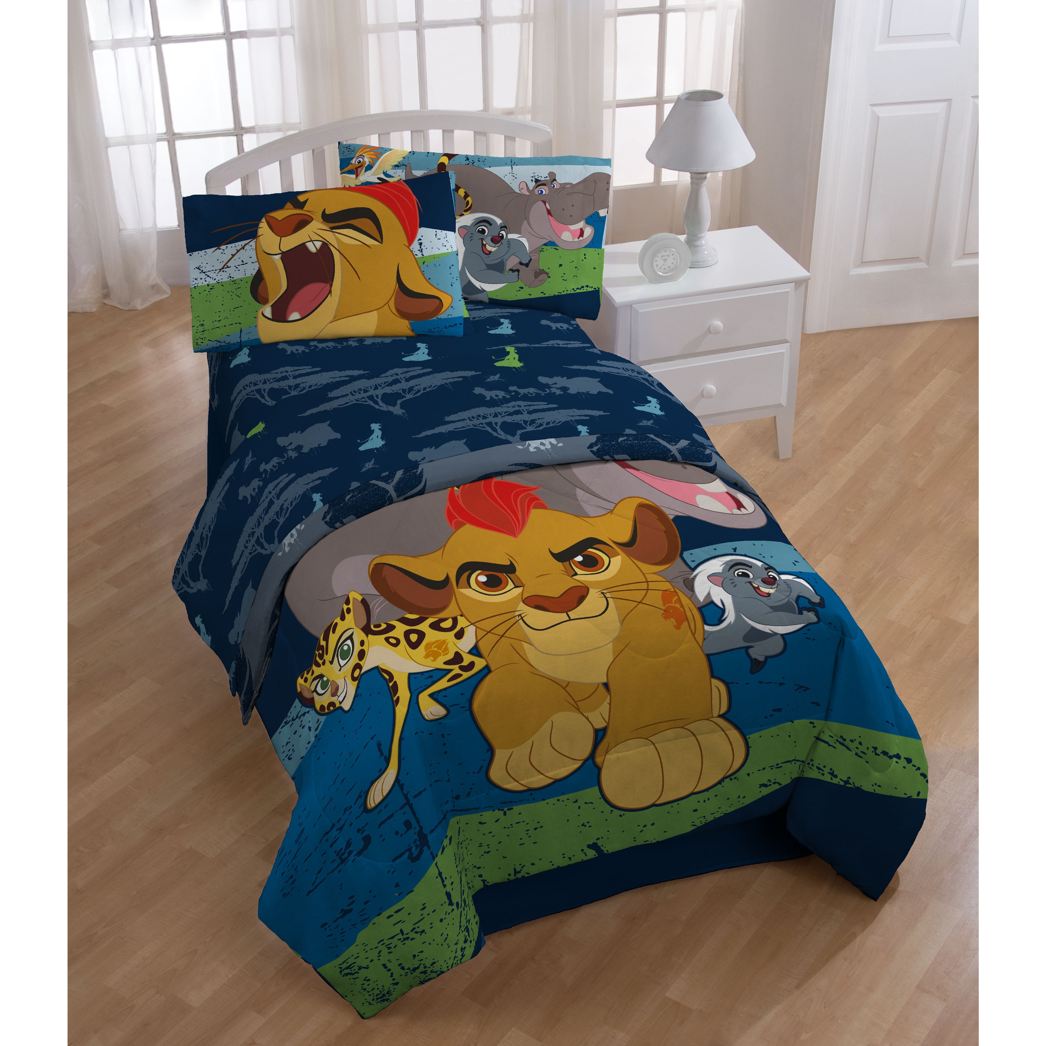 Disney Lion Guard All For One Twin 5-piece Bed in a Bag S...