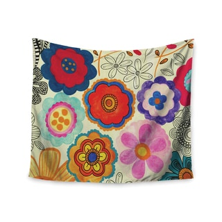 Kess InHouse Louise Machado 'Charming Floral' 51x60-inch Wall Tapestry