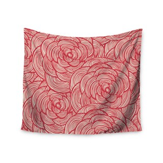 Kess InHouse KESS Original 'Roses' 51x60-inch Wall Tapestry