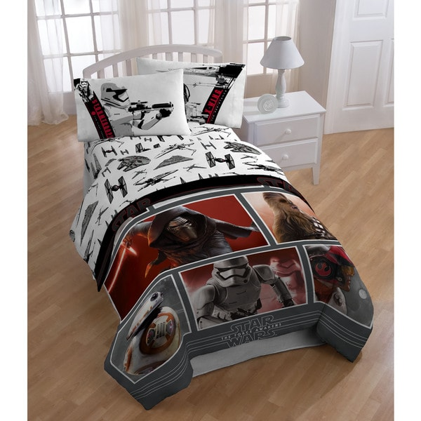 Shop Star Wars Episode 7 Live Action Red Twin 5 Piece Bed
