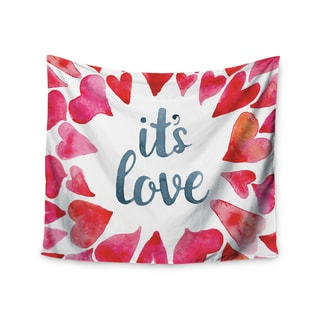 Kess InHouse KESS Original 'It's Love' 51x60-inch Wall Tapestry