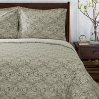 Superior Maywood 300 Thread Count Reversible Cotton Duvet Cover Set
