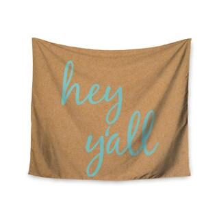 Kess InHouse KESS InHouse 'Hey Y'all' 51x60-inch Wall Tapestry