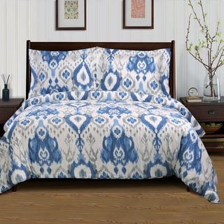 Superior 300 Thread Count Cotton Mountlake Duvet Cover Set