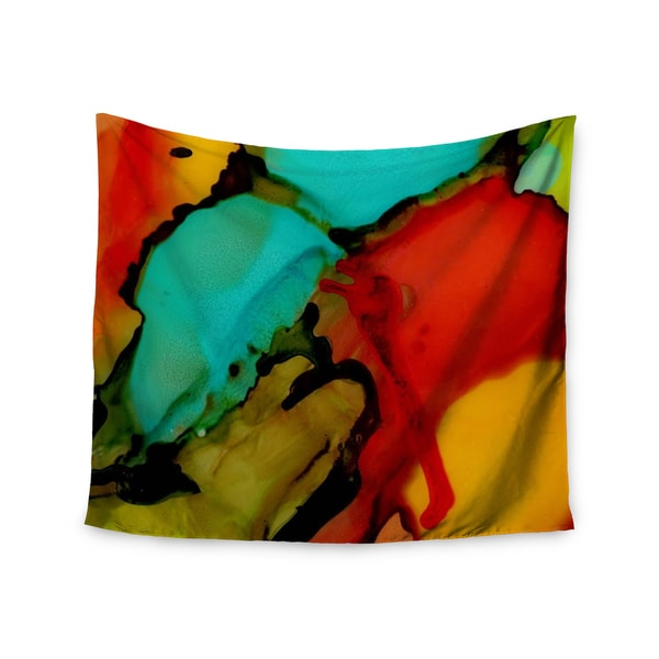 Kess InHouse Abstract Anarchy Design 'Caldera #1' 51x60-inch Wall Tapestry
