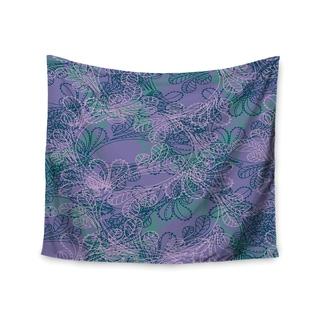 Kess InHouse Patternmuse 'Jaipur Juniper' 51x60-inch Wall Tapestry