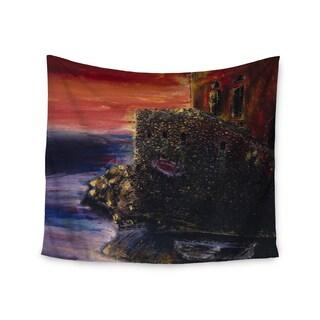 Kess InHouse Josh Serafin 'Seaside Village' 51x60-inch Wall Tapestry