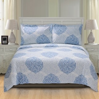 Superior Crawford 300 Thread Count Cotton Duvet Cover Set