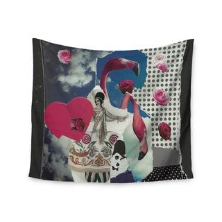 Kess InHouse Jina Ninjjaga 'Flamingo Attack' Pop Art51x60-inch Wall Tapestry