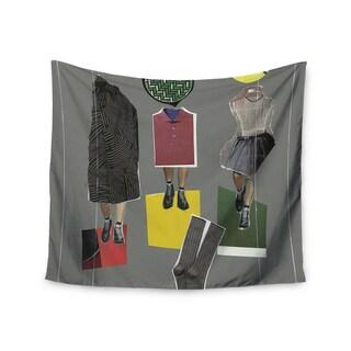 Kess InHouse Jina Ninjjaga 'Fashion' Pop Art51x60-inch Wall Tapestry
