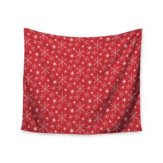 Kess InHouse Julie Hamilton 'Snowflake Berry' 51x60-inch Wall Tapestry