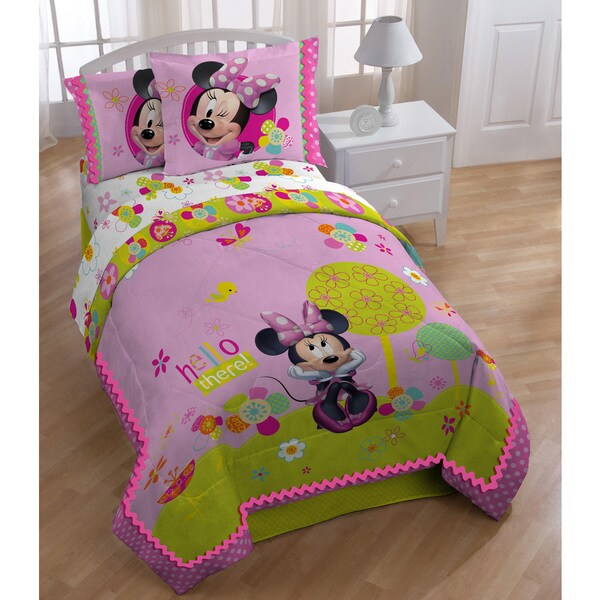 Disney Minnie Bowtique Garden Party Bed in a Bag Set