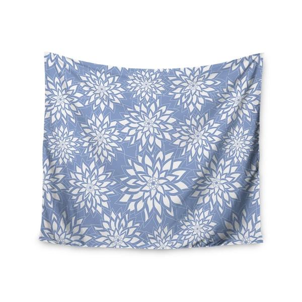 Kess InHouse Julia Grifol 'Blue Garden' 51x60-inch Wall Tapestry