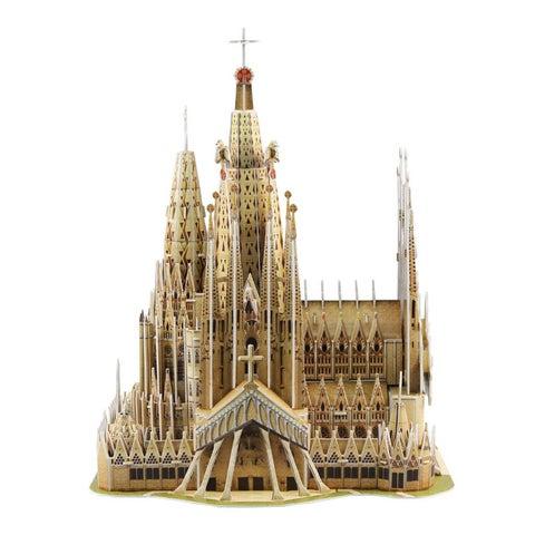 HSI Sagrada Familia Basilica 223-piece 3-D Puzzle