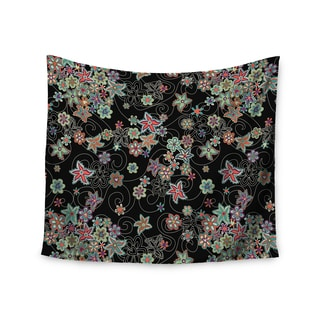 Kess InHouse Julia Grifol 'My Small Flowers' 51x60-inch Wall Tapestry
