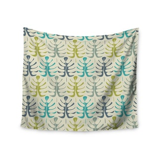 Kess InHouse Julia Grifol 'My Leaves' 51x60-inch Wall Tapestry