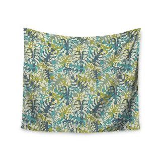 Kess InHouse Julia Grifol 'Tropical Leaves' 51x60-inch Wall Tapestry